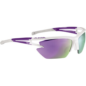 Alpina Eye-5 HR S CM+ Glasses white-purple